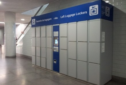 Left Luggage Lockers